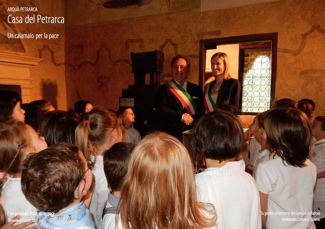 Autorita Casa Petrarca Calamaio Pace