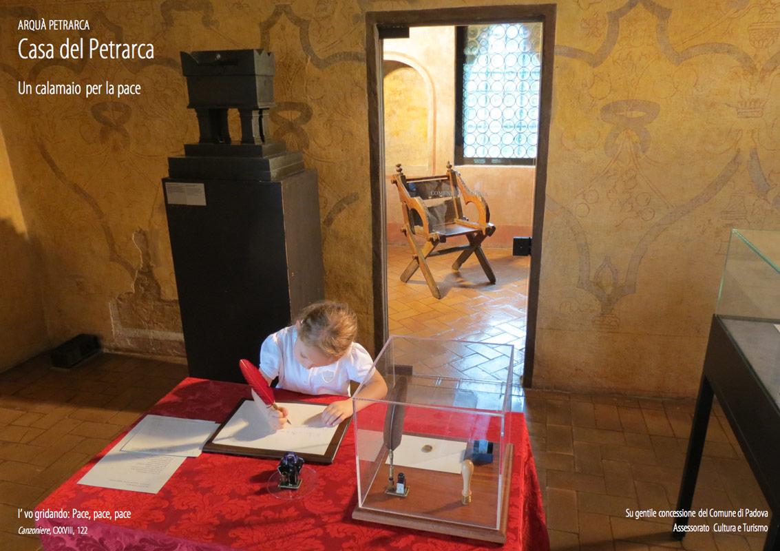 Casa Petrarca Calamaio Pace Foto Luca Brunoro